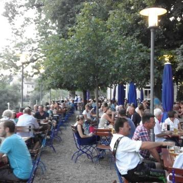 Beergarden à Ratisbonne