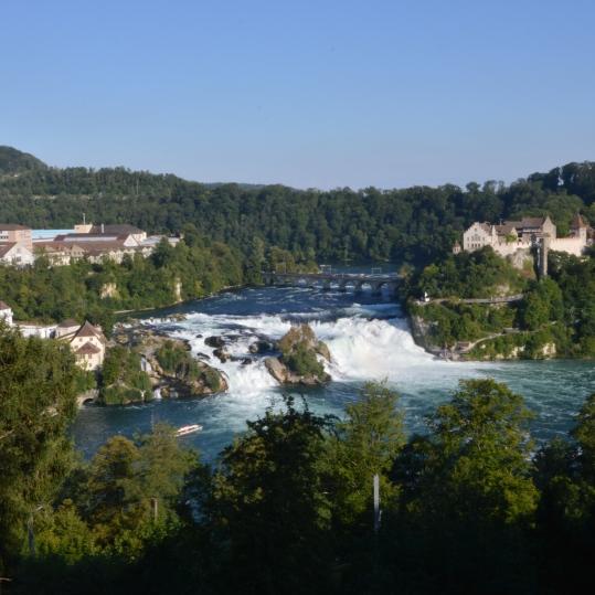 Les chutes de Schaffhausen am Rhein